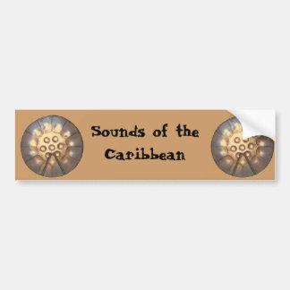 Sounds of the Caribbean Car Bumper Sticker