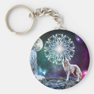 Sounds of the Universe Basic Round Button Keychain