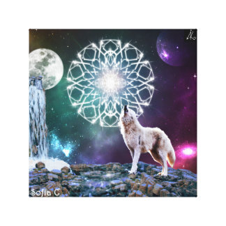 Sounds of the Universe Canvas Print