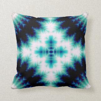 Soundwave Cross Throw Pillow