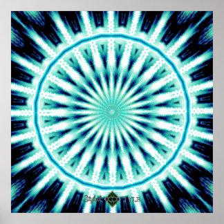 Soundwave Mandala 2 Poster