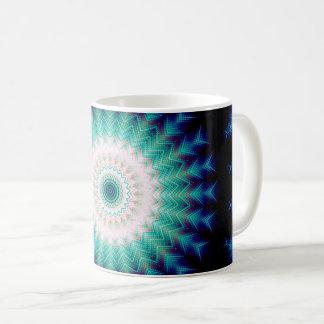 Soundwave Mandala Coffee Mug