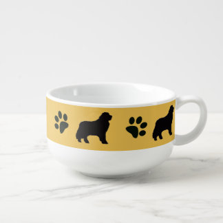 Soup Bowl ~Newfoundland dog