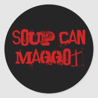 Soup Can Sticker