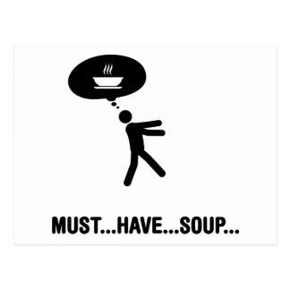 Soup Lover Postcard