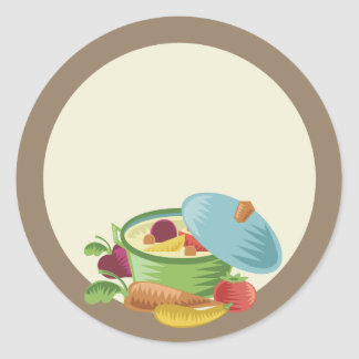 soup stew homemade kitchen cooking gift stickers