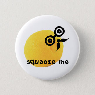 Sour Face Squeeze Me Button