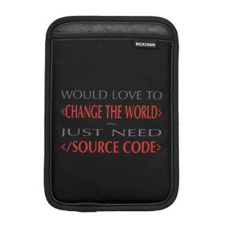 Source Code Sleeve For iPad Mini
