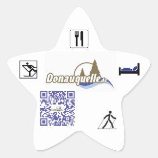 Source of Danube Star Sticker