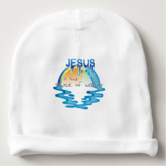 Source Of Water Baby Beanie