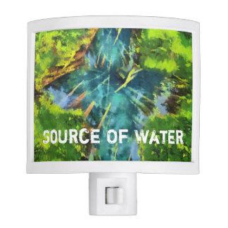 Source Of Water Nite Light