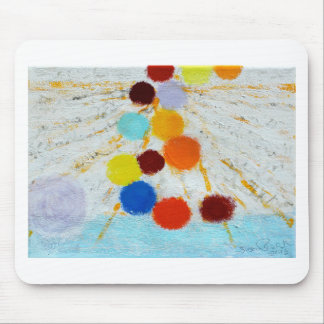 Sourcing - A abstract painting by Susan Richter Mouse Pad