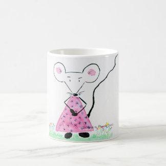 Souricette celebrates some for spring coffee mug