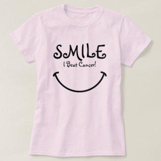 Sourire, j'ai battu le Cancer T Shirts