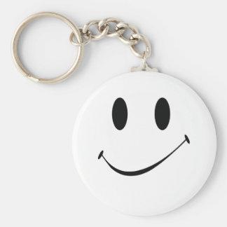sourire porte-clé rond