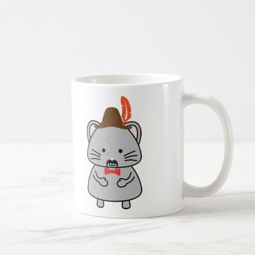 souris alpine tasse à café
