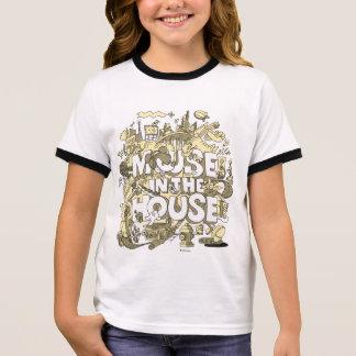 Souris de Mickey Mouse | dans la Chambre T-shirt Ras-de-cou