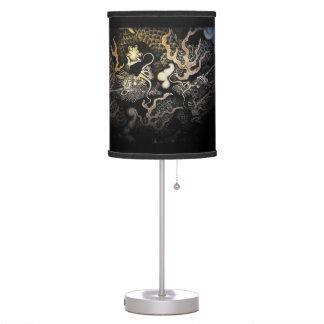 Souryuzu Twin Dragons in Temple Table Lamp