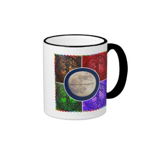 Sous des cieux d'août… mug à café