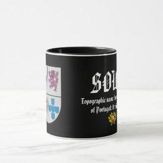 Sousa Surname Arms Mug