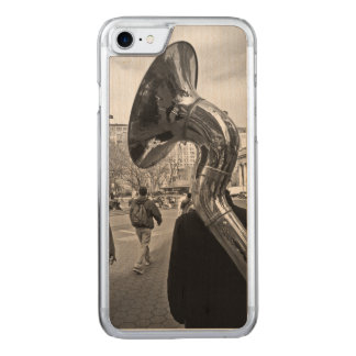 Sousaphone Carved iPhone 8/7 Case