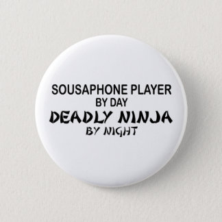 Sousaphone Deadly Ninja by Night 2 Inch Round Button