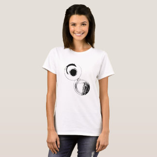 Sousaphone Silhouette White T-Shirt