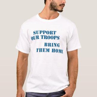 Soutenez nos troupes les amènent à la maison tshirt