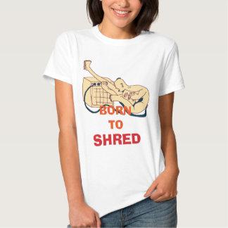 Soutenu pour déchiqueter tee shirts