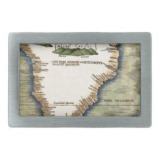 South Africa 1513 Rectangular Belt Buckle