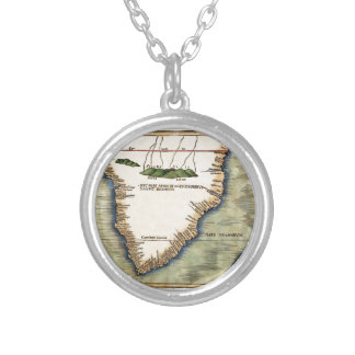 South Africa 1513 Silver Plated Necklace