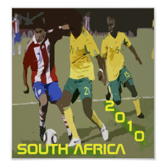 SOUTH AFRICA 2010 POSTER