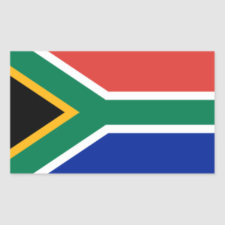 South Africa/African Flag Sticker