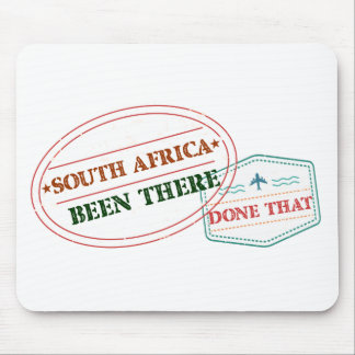 South Africa Been There Done That Mouse Pad