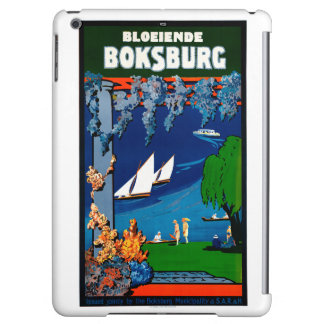 South Africa Boksburg Vintage Travel Poster iPad Air Covers