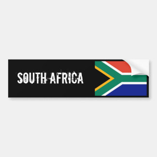 South Africa bumber sticker Bumper Sticker