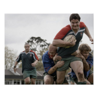 South Africa, Cape Town, False Bay Rugby Club Poster