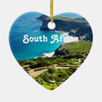 South Africa Ceramic Heart Ornament