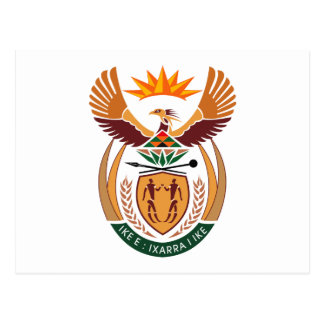 South Africa Coat of Arms Postcard