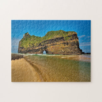 South Africa Coffee Bay Hole in the Wall Mountain Jigsaw Puzzle