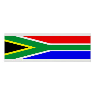 south africa country flag nation symbol name text poster