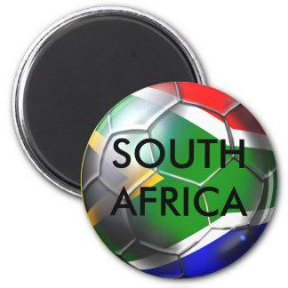 South africa deep groove Soccer ball artwork Magnet