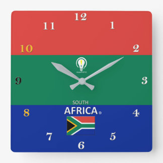 South Africa Designer Wall Clock