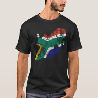 South Africa Distressed shirt