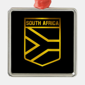 South Africa Emblem Metal Ornament