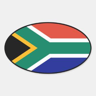 South Africa Euro Sticker