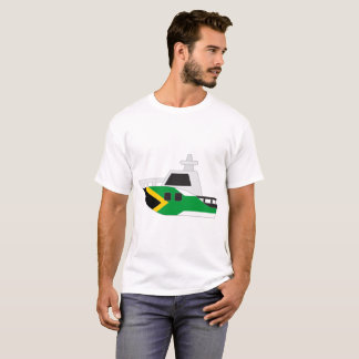 South Africa Flag Boat T-Shirt