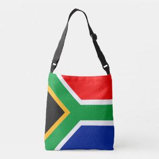 South Africa Flag Crossbody Bag