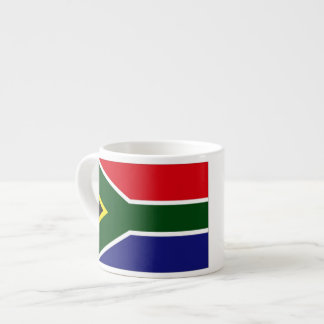 South Africa Flag Espresso Cup