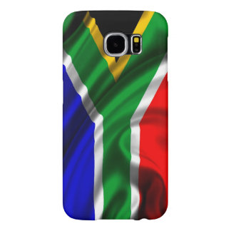 South Africa Flag Fabric Samsung Galaxy S6 Cases